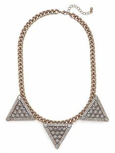 warrior triad necklace / baublebar