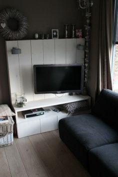 steigerhouten tv kast tvmeubel Flat Screen, Living Room, Home, Blood Plasma, Ad Home, Flatscreen, Home Living Room, Drawing Room, Homes