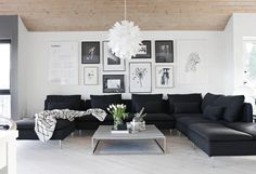 Gallery wall from Stylizimo blog
