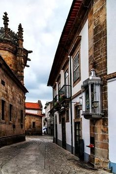 Braga, Portugal Behind the Cathedral