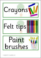 Bay Tree-themed classroom signs and labels pack (SB2374) - SparkleBox