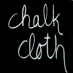 Chalkcloth™ is a super cool vinyl, its strong and super fun! Great for mats and tablecloths! We are talking endless crafty goodness! FYI: it is