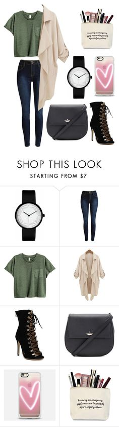 """""""Green blue"""" by bestylished on Polyvore featuring Kate Spade and Casetify"""