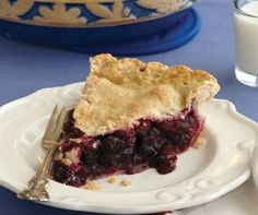 This mouthwatering pie bursting with berries comes from one of our newest cookbooks, Cooking Fresh With The Old Farmer's Almanac.