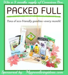 ENDS AT MIDNIGHT! HURRY AND JOIN NOW! Win 3 Months Supply of Conscious Box! open US