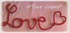 A'Tout Créatif: Mot: Love