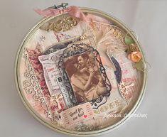 Άρωμα Δαντέλας Mixed Media, Arts And Crafts, My Arts, Plates, Tableware, Journals, Scrapbooking, Design, Licence Plates