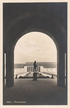 Unknown architect - Museumsbau, Pressa, Köln (Museum Building, Pressa Exhibition, Cologne), 1927-28
