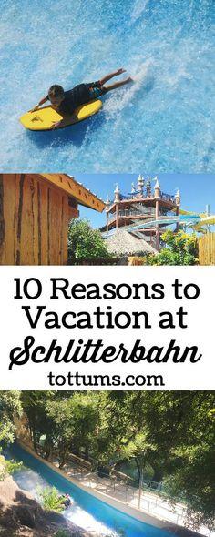 Top Ten Reasons to Vacation at Schlitterbahn, New Braunfels