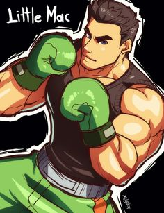 A guy asked me to draw Little Mac from Punch Out, so here it is Punch Out Game, Nintendo Sega, Nintendo Games, Super Smash Bros Brawl, Little Mac, Video Game Companies, Mike Tyson, Hot Anime Guys, Video Game Characters
