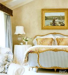 1000 images about master bedrooms french country for French blue bedroom design