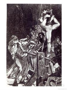Punishment of a Witch, 1911 von Martin Van Maele