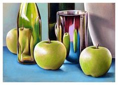 Great Lesson Plan for Still Life Drawing in Pastels