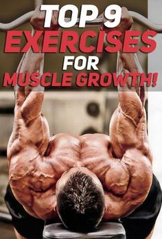 The Top 9 Exercises for Muscle Growth! All of the exercises listed in the article are purposefully curated to help anyone who is trying their best to grow bigger and stronger. Most of the exercises will also help with fat loss as they are high intensity. https://www.musclesaurus.com/