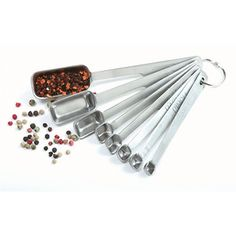 I want these rectangular measuring spoons so that they can fit into spice jars!