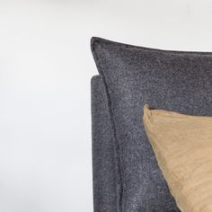 The Frank Bed designed for us by cm studio is part of the stapleandcoXcmstudio collection. Ebony Legs, Thing 1, Linen Sofa, Bed Head, Bed Design, Leather Sofa, Simple Designs, Wool Felt, Modern Design