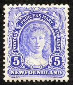 Big Blue 1840-1940: Newfoundland- The Royal Family on Stamps