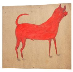 Bill Traylor, red dog