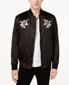 Young & Reckless Men's Floret Embroidered Bomber Jacket