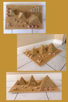 Risultato immagine per school project ideas egyptian pyramids
