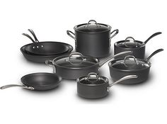 Shop for Calphalon Commercial Hard-Anodized 13-pc Cookware Set at Calphalon Store