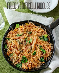 Fried Vermicelli Noodles More