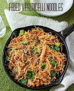 Fried Vermicelli Noodles