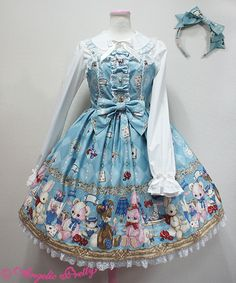 【2017福袋】Wonder ToyジャンパースカートSet Kawaii Fashion, Lolita Fashion, Shops, Lolita Style, Angelic Pretty, Color Schemes, Fashion Outfits, Clothing, Inspiration