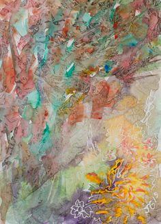 Garden Plants Two, an abstract interpretation of the garden.