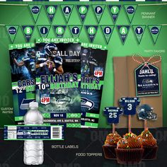 Seattle Seahawks Ultimate Party Package by ‪#‎sportsinvites