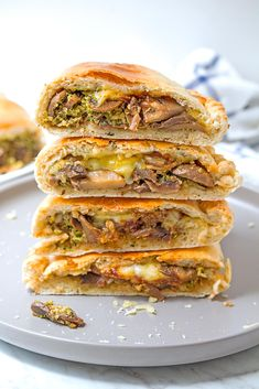 Healthy Vegan and Vegetarian Recipes Stuffed Mushrooms, Vegan Calzone, Dairy Free Cheese, Lunch Meal Prep, Dry Yeast, Tray Bakes, Salmon Burgers, Vegetarian Recipes