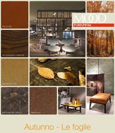 FLEXFORM MOOD | FALL - LEAVES #INSPIRATION #colour #materials