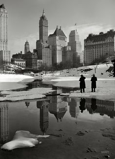 Central Park, looking toward Fifth Avenue, 1933