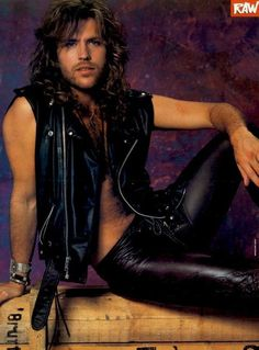 Kip Winger-Im a sucker for long hair and hairy chest!!!!