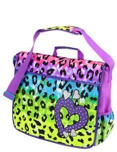 Leopard Messenger Bag   Backpacks & School Supplies   Accessories   Shop Justice