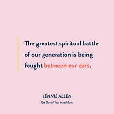 Scripture Quotes, Book Quotes, Bible Verses, Jennie Allen, Starting A Book, Conversation Cards, Mental And Emotional Health, Beyond Words, Praise The Lords