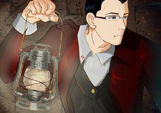 Markiplier in Amnesia The Dark Descent by Reika00Scarlet pinning for lantern