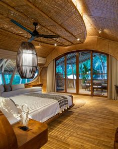 Bamboo architecture is all the rage in the world of tropical sustainable luxury, and the latest word in this trend is the Ulaman Eco Retreat in Bali. This wellness retreat is an incredibly inventive creation that blends ancient building techniques and modern technology to offer an experience of a futuristic village integrated into a tropical forest. #ubudbalihotel #ubudbalihotelboutiques #besthotelsinubudbali #balihoteldesign #balihotelarchitecture #balihotelinterior #balihotelinteriordesign Luxury Hotels Bali, Ubud Bali Hotels, Beach Hotels, Hotels And Resorts, Luxury Travel, Best Of Bali, Bamboo Architecture, Ancient Buildings, Tropical Forest