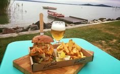 "A legjobb ""lake food"" éttermek a Balatonnál (TOP5) Places To Eat, Dairy, Cheese, Food, Essen, Yemek, Eten, Meals"