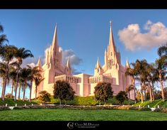 Mormon Temple (LDS) - San Diego I want to go to this one!