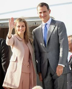 Letizia, Queen of Spain This trip to Morocco is part of the tour of the Kings of Spain being made to the neighboring countries during the month of July.