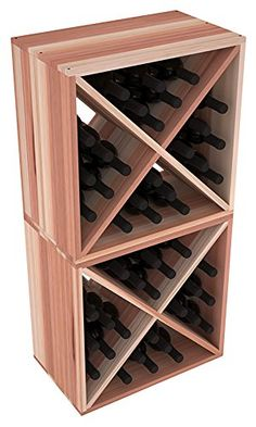 Best Wine Rack | Wine Racks America Redwood 48 Bottle Wine Cube 13 Stains to Choose From -- Want to know more, click on the image.(It is Amazon affiliate link) #40likes