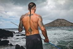 Rebel Ink - CELEBRITY INK - Leland Chapman - A Marked Man.   (GREAT Article & Pics)