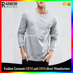 Check out this product on Alibaba.com App:Wholesale Fashion Unisex Custom Your Own Logo Long Sleeves Embossed T Shirts https://m.alibaba.com/MrIZNb