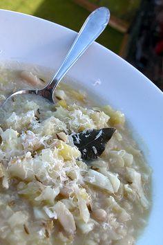 zuppa di cavolo cappuccio