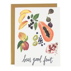 Bear Good Fruit