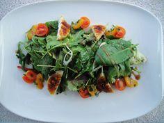 Mesclun salad.   Avocado Toast, Salad, Restaurant, Fresh, Dishes, Breakfast, Food, Kitchens, Morning Coffee