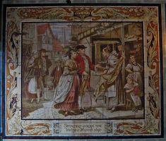 Weaving shop in Spitalfields