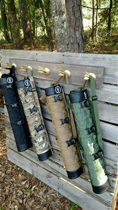 Primal Revolution Tactical Quiver products at Primal Gear Unlimited. The Primal Revolution Tactical Quiver is truly a revolution in quivers. MOLLE compatible for attaching to your go bag and adding additional pouches to your quiver. Easily converts from a back quiver to a shoulder slung hip quiver or belt quiver with the included straps and belt attachment. Works for right or left handed users by moving the attachment points on the straps or belt attachment.