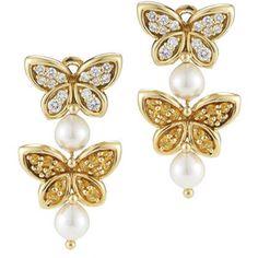 Van Cleef Arpels Butterfly Earrings